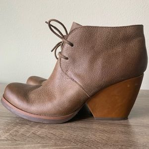 Korks by Kork-Ease Leather Rossi Ankle Booties 8.5
